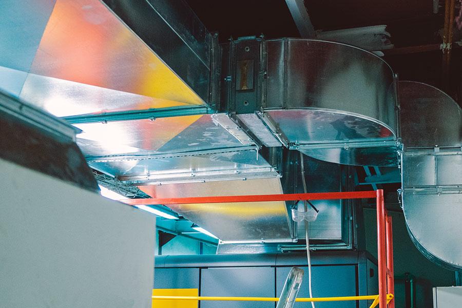 Mantenimiento de climatización industrial